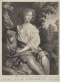 Eleanor ('Nell') Gwyn, by Gerard Valck, after  Sir Peter Lely - NPG 3811