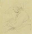 Sir Francis Seymour Haden, by Sir William Rothenstein - NPG 3870