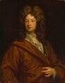 Charles Montagu, 1st Earl of Halifax, by Sir Godfrey Kneller, Bt - NPG 3211