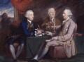 Lord Halifax and his secretaries, attributed to Daniel Gardner, after  Hugh Douglas Hamilton - NPG 3328