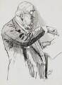 Sir William Vernon Harcourt, by Harry Furniss - NPG 3390