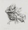 Sir William Vernon Harcourt, by Harry Furniss - NPG 3391