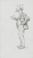 Keir Hardie, by Harry Furniss - NPG 3579