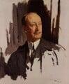 Charles Hardinge, 1st Baron Hardinge of Penshurst, by Sir William Orpen - NPG 4179