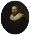 William Harvey, attributed to Daniel Mytens - NPG 5115