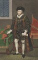 Sir Christopher Hatton, attributed to Silvester Harding, after  Nicholas Hilliard - NPG 2413