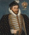 Sir Christopher Hatton, by Unknown artist - NPG 2162