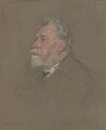William Ernest Henley, by Francis Dodd - NPG 4420