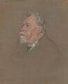 William Ernest Henley, by Francis Dodd - NPG 4420