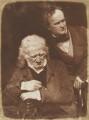 John Henning; Alexander Handyside Ritchie, by David Octavius Hill, and  Robert Adamson - NPG P6(24)