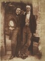 David Octavius Hill; William Borthwick Johnstone, by David Octavius Hill, and  Robert Adamson - NPG P6(100)