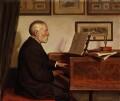 Alfred James Hipkins, by Edith J. Hipkins - NPG 2129