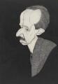 Sir Charles John Holmes, by Powys Evans - NPG 3307