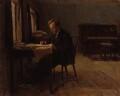 Gustav Holst, by Millicent Woodforde - NPG 4273