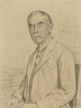 A.E. Housman, by Francis Dodd - NPG 3075
