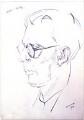 Aldous Huxley, by Alfred Aaron Wolmark - NPG 4485