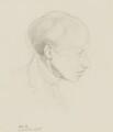 James Dickson Innes, by Albert Rutherston - NPG 3054