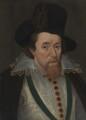 King James I of England and VI of Scotland, after John De Critz the Elder - NPG 548