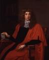 George Jeffreys, 1st Baron Jeffreys of Wem, after John Michael Wright - NPG 56