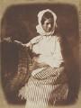Elizabeth Hall (née Johnstone), by David Octavius Hill, and  Robert Adamson - NPG P6(193)