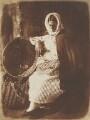 Elizabeth Hall (née Johnstone), by David Octavius Hill, and  Robert Adamson - NPG P6(195)