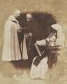 The Monks of Kennaquhair, by David Octavius Hill, and  Robert Adamson - NPG P6(144)