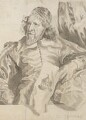 Inigo Jones, after an engraving by Robert van Voerst, after  Sir Anthony van Dyck - NPG 3128