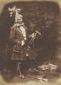The Waving Plume (Peter ('Kahkewaquonaby') Jones), by David Octavius Hill, and  Robert Adamson - NPG P6(145)