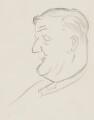 Cecil Harmsworth King, by Sir David Low - NPG 4529(192)