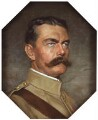 Herbert Kitchener, 1st Earl Kitchener, by Charles Mendelssohn Horsfall - NPG 1780