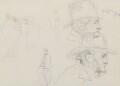 William Frederick Witherington; John Prescott Knight, by Charles West Cope - NPG 3182(6)