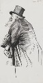 Joseph Knight, by Harry Furniss - NPG 3479
