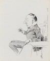 Edward Knoblock, by Harry Furniss - NPG 3481