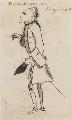 Dodo Heinrich, Freiherr von Knyphausen, by George Townshend, 4th Viscount and 1st Marquess Townshend - NPG 4855(59)