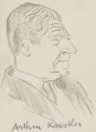 Arthur Koestler, by Sir David Low - NPG 4529(198)