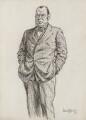Sir John Lavery, by Sir (John) Bernard Partridge - NPG 3671
