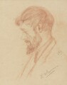 D.H. Lawrence, by Maria Hubrecht - NPG 5098