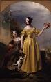 Alexina Nesbit Sandford (née Lindsay); Catherine Hepburne Lindsay, by Andrew Geddes - NPG 3791