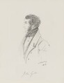 John Lyster, by Alfred, Count D'Orsay - NPG 4026(40)