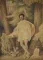Unknown man, formerly known as Edward George Earle Lytton Bulwer-Lytton, 1st Baron Lytton, attributed to Alfred Edward Chalon - NPG 1099