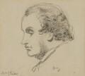 Daniel Maclise, by Charles Hutton Lear - NPG 1456(20)