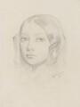 Augusta Mathews (née Leighton), by Frederic Leighton, Baron Leighton - NPG 2141(b)