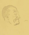 Somerset Maugham, by Sir David Low - NPG 4529(235)