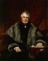 William Lamb, 2nd Viscount Melbourne, by John Partridge - NPG 941