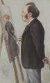 Sir John Everett Millais, 1st Bt, by Carlo Pellegrini - NPG 2626