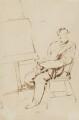 Sir John Everett Millais, 1st Bt, by Charles Samuel Keene - NPG 1117
