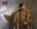 Bernard Law Montgomery, 1st Viscount Montgomery of Alamein, by Francis Owen ('Frank') Salisbury - NPG L165