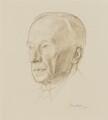 G.E. Moore, by Percy Horton - NPG 4135