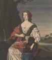 Elizabeth, Viscountess Mordaunt, attributed to George Perfect Harding, after  Louise Hollandine, Princess Palatine - NPG 3090(4)