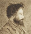 William Morris, by Charles Fairfax Murray - NPG 3652